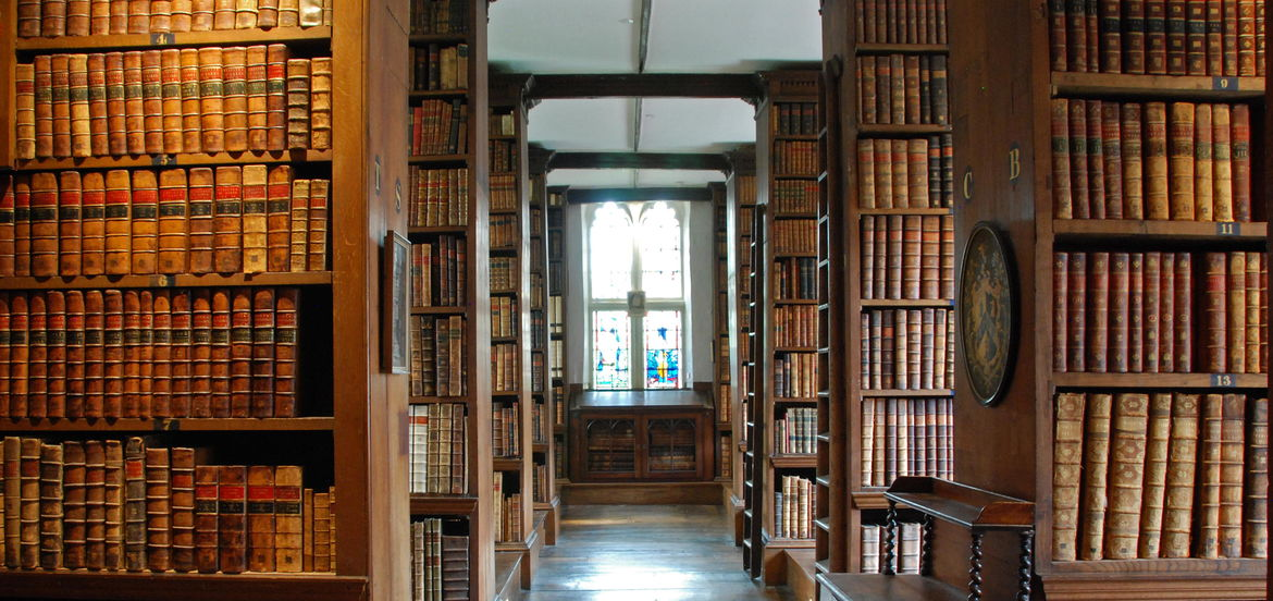 Cover Photo: Trinity College Library, Dublin