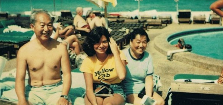 Cover Photo: Masaji, Susan, and  KIkuko Ito, Miami Beach, 1975.