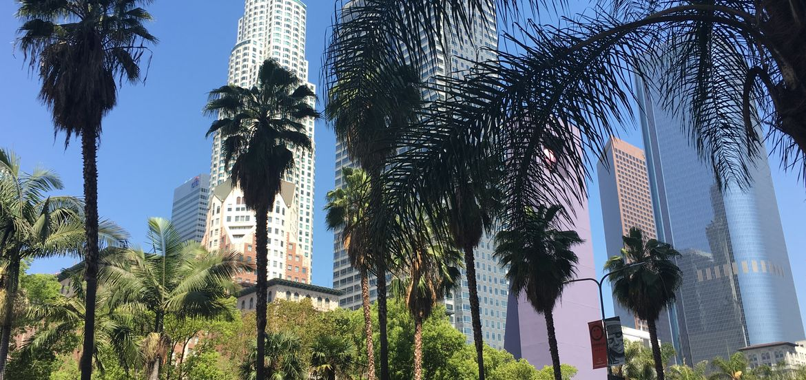 Cover Photo: downtown los angeles, april 2016