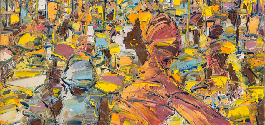 Cover Photo: Ablade Glover, Busy Bodies, 2014. Oil on canvas, 127 x 101 cm.