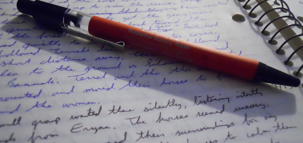 Cover Photo: An Amazing Writer by Natalie Alder
