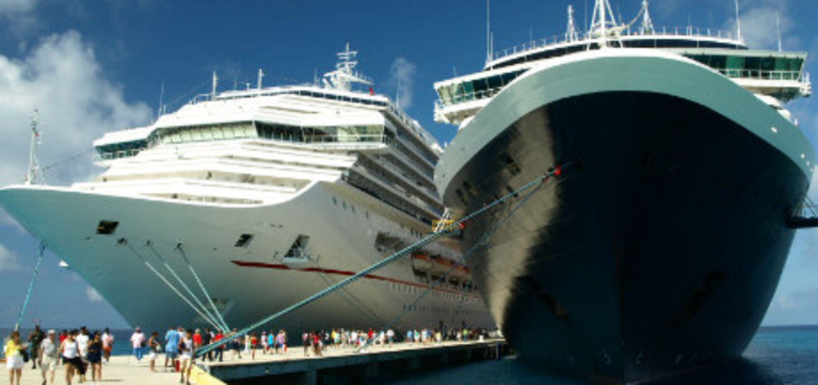Cover Photo: Should you travel by a cruise ship? by Ethel Beverly