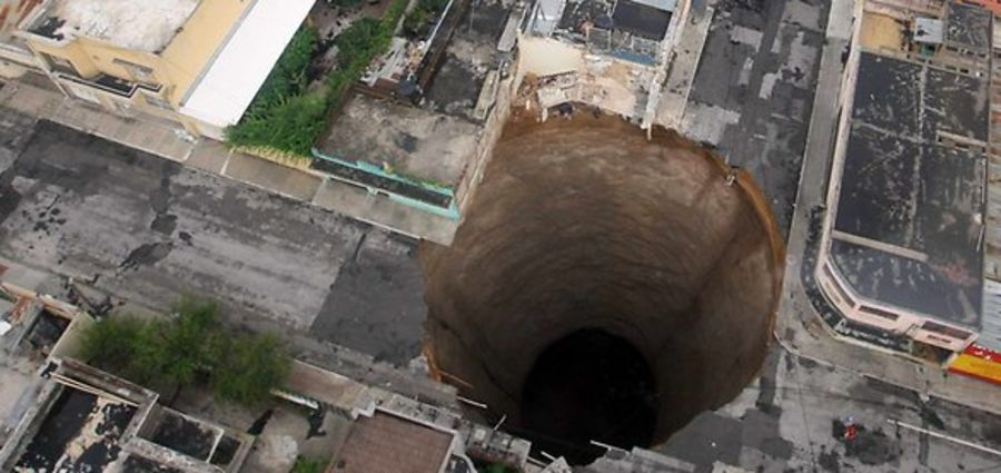 Cover Photo: Killer Sinkholes Could Be in Your Backyard by Al V.W.
