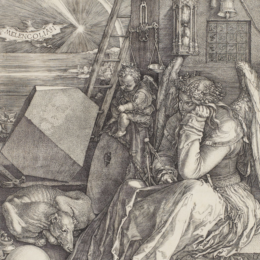 Cover Photo: detail from Albrecht Dürer's Melencolia I