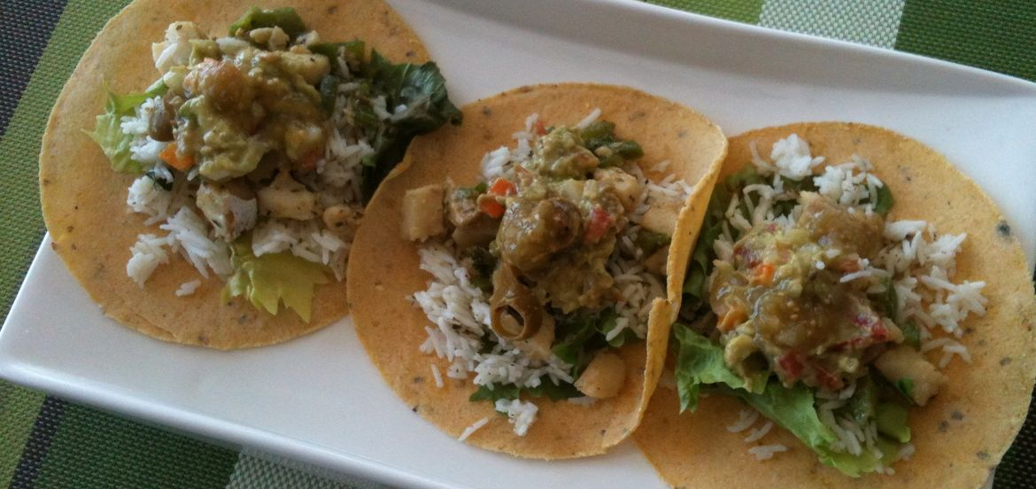 Cover Photo: taco triptych