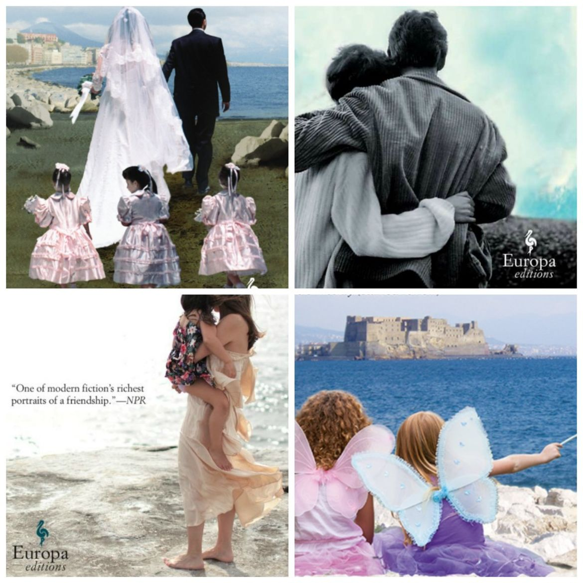 Cover Photo: details from cover of The Neopolitan Novels