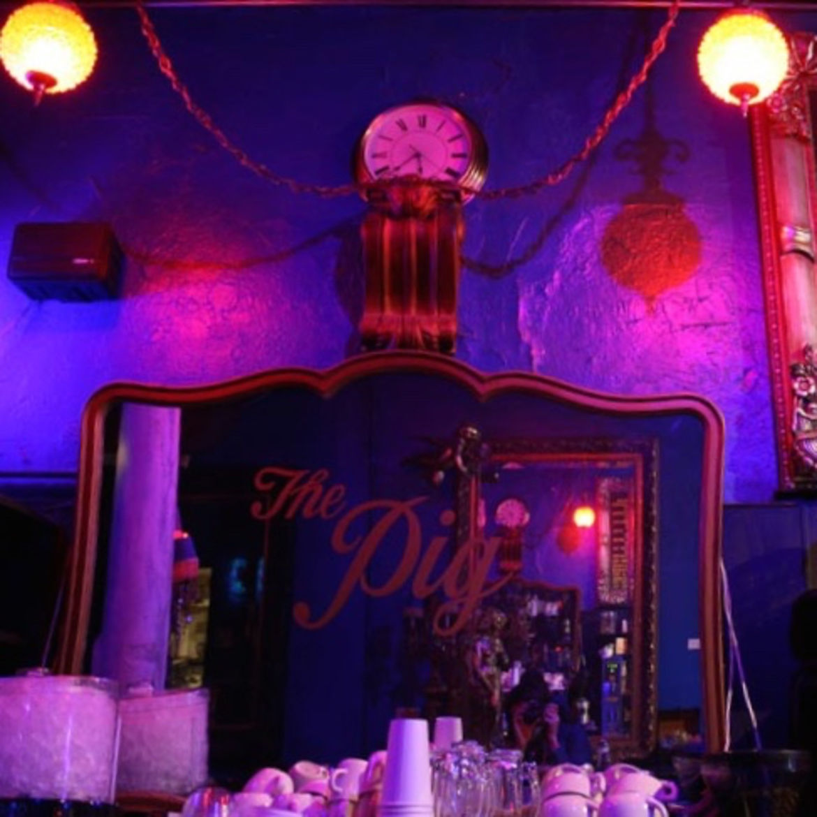 Cover Photo: The Bourgeois Pig, photo by Kenn Wilson/flickr