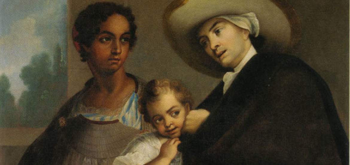 "Cover Photo: ""From Spanish and Mulatto, Moorish,"" Casta Painting"