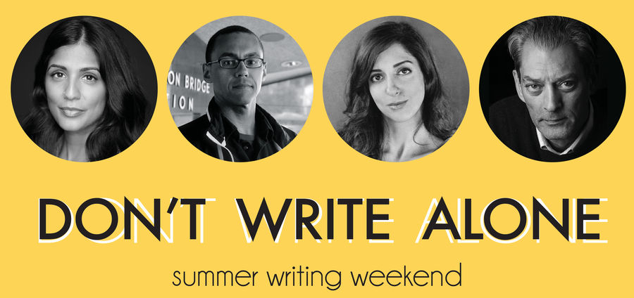Cover Photo: Don't Write Alone: This Weekend! by Colin Drohan