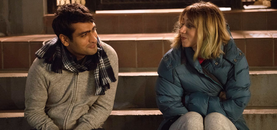 Cover Photo: Kumail Nanjiani and Zoe Kazan in 'The Big Sick'