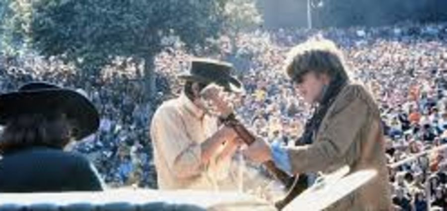 Cover Photo: Looking Back at Berkeley 1968 by Simon Sobo