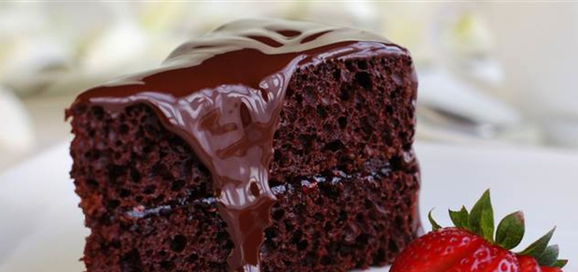 Cover Photo: Double Chocolate Cake by Briauna Michel