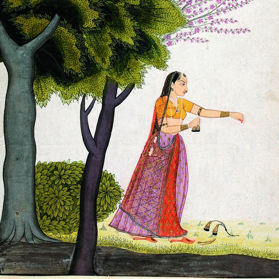 Cover Photo: Vipralabdha nayika / wikimedia