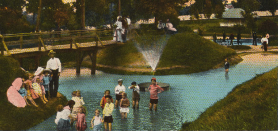 Cover Photo: Children's wading pond / photo courtesy of Special Collections, University of Houston Libraries
