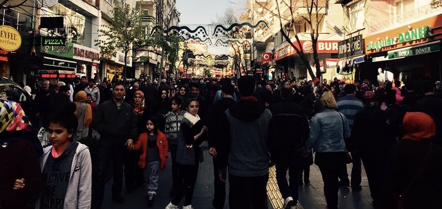 Cover Photo: Bağcılar's main pedestrian walkway. Photos provided by the author.