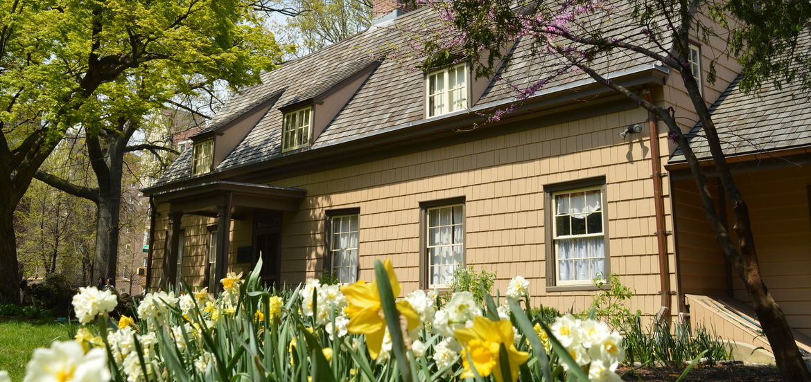 Cover Photo: The Bowne House / Wikimedia