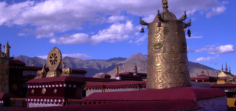 Cover Photo: Lhasa, Tibet  (photo by Frances Katz)