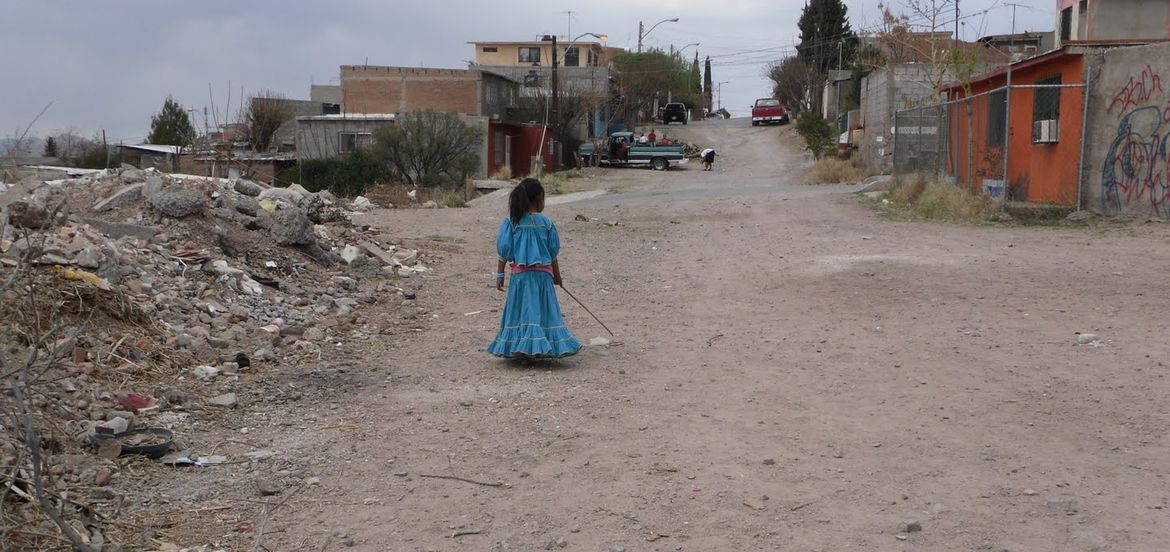 Cover Photo: Julissa in Chihuahua City. Photo courtesy of author
