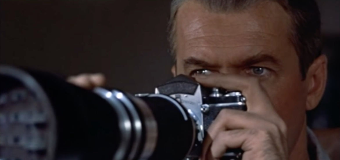 """Cover Photo: Screencap from the film """"Rear Window"""""""
