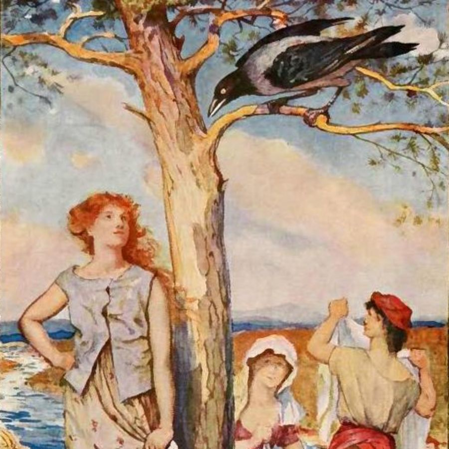 Cover Photo: Illustration by H. J. Ford from 'The Lilac Fairy Book,' 1910