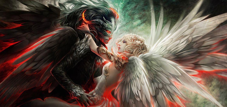 Cover Photo: Lucifer una historia de amor. by Nova Rosales