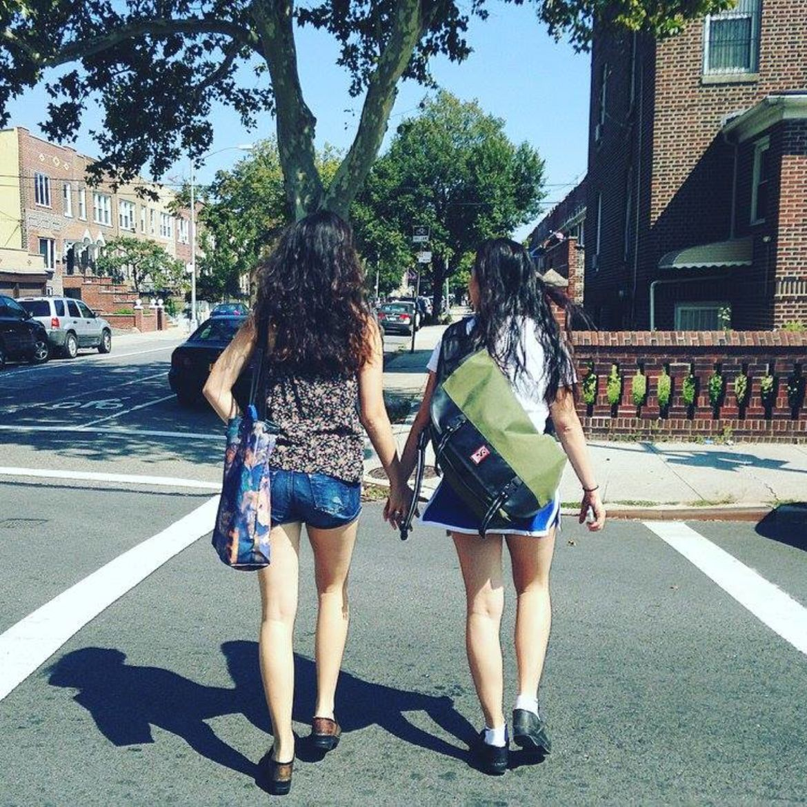Cover Photo: the author and her sister in 2015
